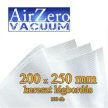 Vákuumtasak légbordás 200x250 mm,100µ - Air Zero (100 db)
