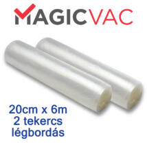 Vákuumfólia tekercsben 20x600 cm légbordás Magic Vac®