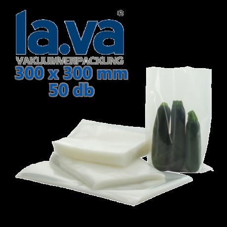 Vákuumtasak (90µ) LAVA 300x300 mm (50db)