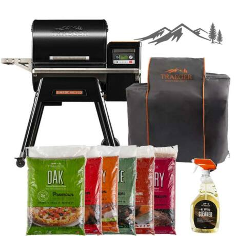 Traeger TIMBERLINE 850 Grill & BBQ Master Pack akcio